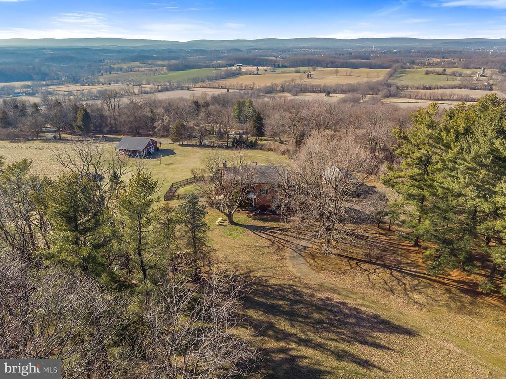 Breathtaking sunset  views of the Blue Ridge. - 18217 CANBY RD, LEESBURG
