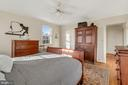 Hardwoods throughout all 3 BRs & hall on UL. - 18217 CANBY RD, LEESBURG