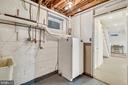 EZ access utility from finished basement. - 18217 CANBY RD, LEESBURG