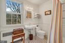 'Restoration' style sink/fixtures, ceramic tile. - 18217 CANBY RD, LEESBURG