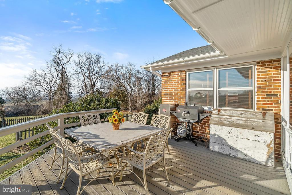 Dinner on the deck w/ sunset vistas! - 18217 CANBY RD, LEESBURG