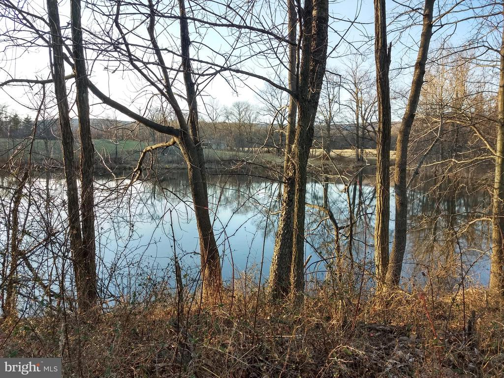 second pond on west - 20775 AIRMONT RD, BLUEMONT