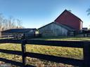bank barn and livestock barns - 20775 AIRMONT RD, BLUEMONT
