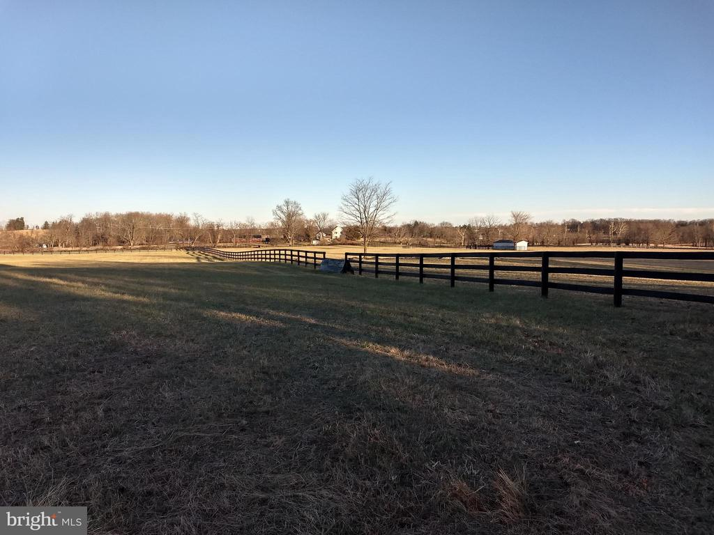 area behind front paddock - 20775 AIRMONT RD, BLUEMONT