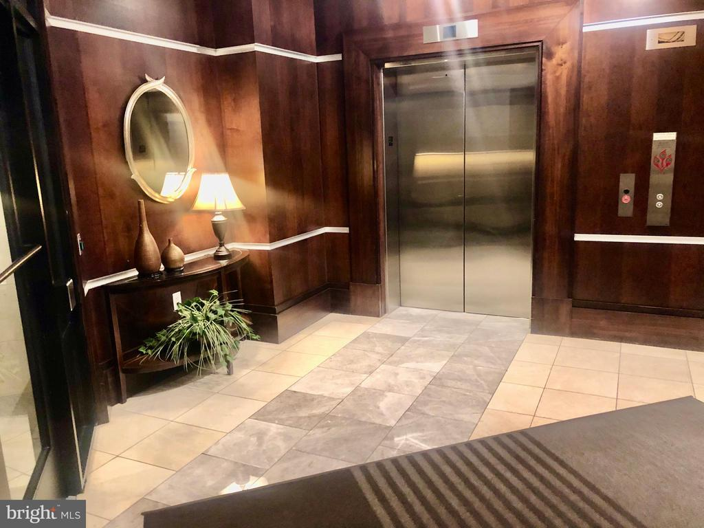LOBBY AND ELEVATOR - 38 MARYLAND AVE #312, ROCKVILLE