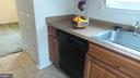 Kitchen with dishwasher - 7615 INGRID PL, LANDOVER