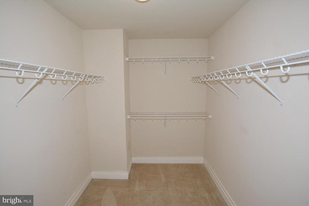 MASTER BEDROOM WALK IN CLOSET - 8220 CRESTWOOD HEIGHTS DRIVE #1818, MCLEAN