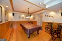 Lower level billiards room - 37120 DEVON WICK LN, PURCELLVILLE