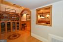 Lower level built in shelving - 37120 DEVON WICK LN, PURCELLVILLE
