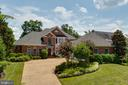 Brick home with 3 car garage, views of the Potomac - 9403 LUDGATE DR, ALEXANDRIA