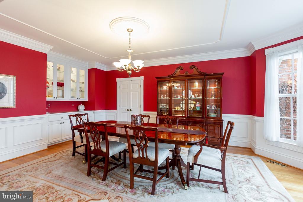 Formal dining room - 9403 LUDGATE DR, ALEXANDRIA