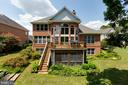 Back of house - 9403 LUDGATE DR, ALEXANDRIA