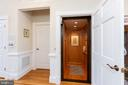 Elevator to all 3 levels - 9403 LUDGATE DR, ALEXANDRIA