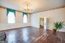 Living room - 100 CARTER ST, FREDERICKSBURG