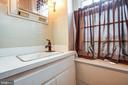 main level 1/2 bath - 100 CARTER ST, FREDERICKSBURG