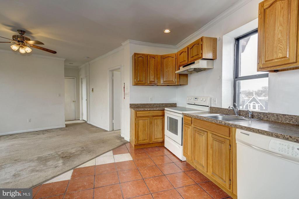 Kitchen/Living Room - 5 RHODE ISLAND AVE NW #401, WASHINGTON