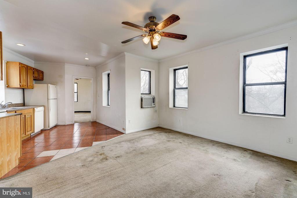 Living Room - 5 RHODE ISLAND AVE NW #401, WASHINGTON