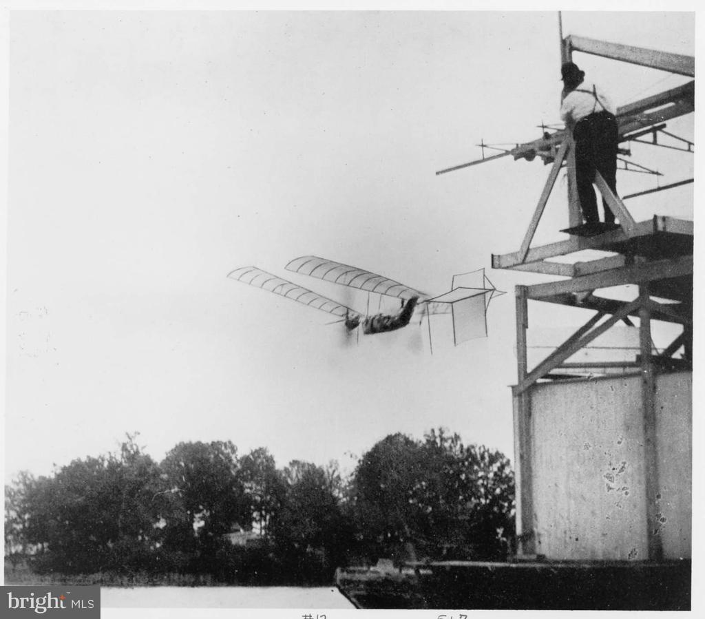 Samuel Langleys Test Flight. Witnesses by Bell - 0 CHOPAWAMSIC ISLAND, STAFFORD