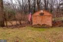 Large Shed with Electric - 6 TANNERY CT, THURMONT