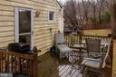 Deck - 6 TANNERY CT, THURMONT