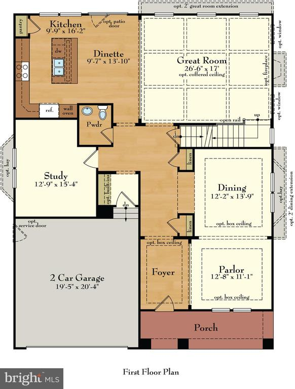 Also includes in-law suite on main level - 3414 BURROWS AVE, FAIRFAX