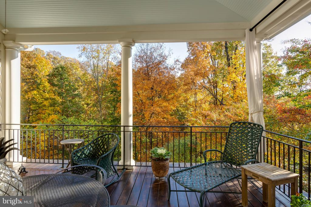 Terrace with stunning views - 1103 FINLEY LN, ALEXANDRIA