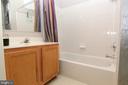Full bath upper level - 9812 SPANISH OAK WAY #118, BOWIE