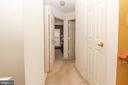 Upstairs hallway - 9812 SPANISH OAK WAY #118, BOWIE