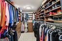 Huge custom-designed Walk-in Closet - 1 SLADE AVE #802, BALTIMORE