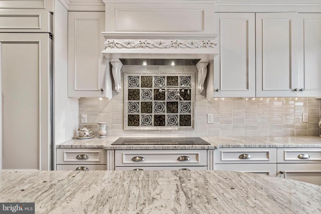 Tile Backsplash, Pot Filler & 5 Burner Cooktop - 1 SLADE AVE #802, BALTIMORE