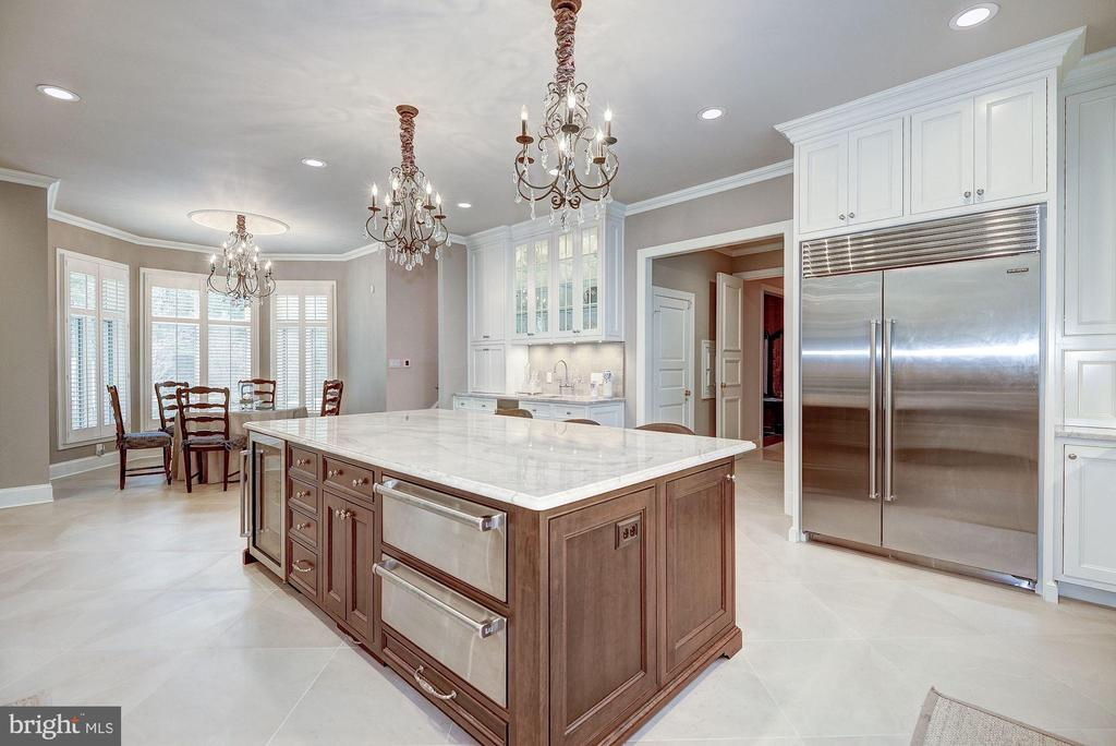 Gourmet Kitchen - Professional Appliances - 1198 WINDROCK DR, MCLEAN