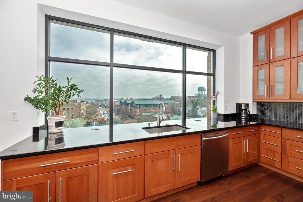 Amazing view of Carroll Creek from your kitchen! - 50 CITIZENS #504, FREDERICK