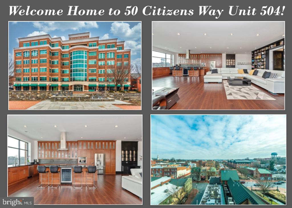 Welcome Home to 50 Citizens Way Unit 504! - 50 CITIZENS #504, FREDERICK