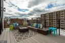 LARGE deck off of dining room - 1712 15TH ST NW #3, WASHINGTON