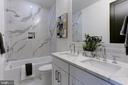 2nd full bath - 1712 15TH ST NW #3, WASHINGTON