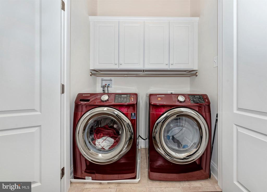 Convenient laundry on bedroom level. - 43 MAXWELL SQ, FREDERICK
