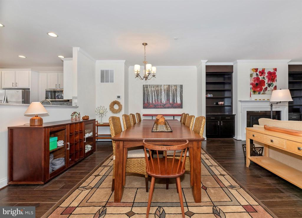 Step up into main level w/ hardwood floors. - 43 MAXWELL SQ, FREDERICK