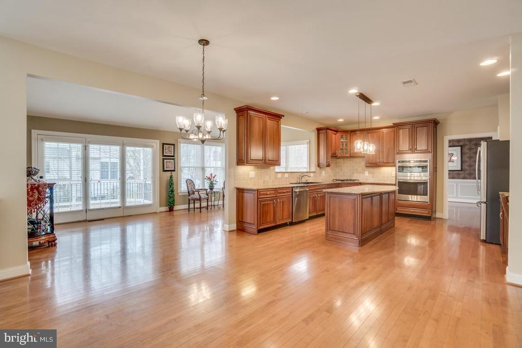 Kitchen and breakfast area - 20190 KIAWAH ISLAND DR, ASHBURN