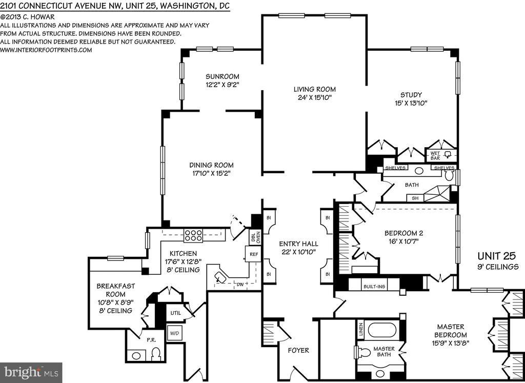 Floorplans - 2101 CONNECTICUT AVE NW #25, WASHINGTON