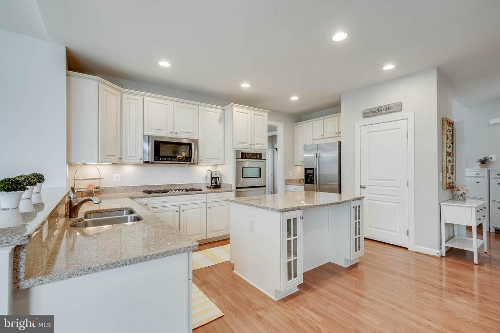 Granite counter tops with SS appliances. - 25983 KIMBERLY ROSE DR, CHANTILLY