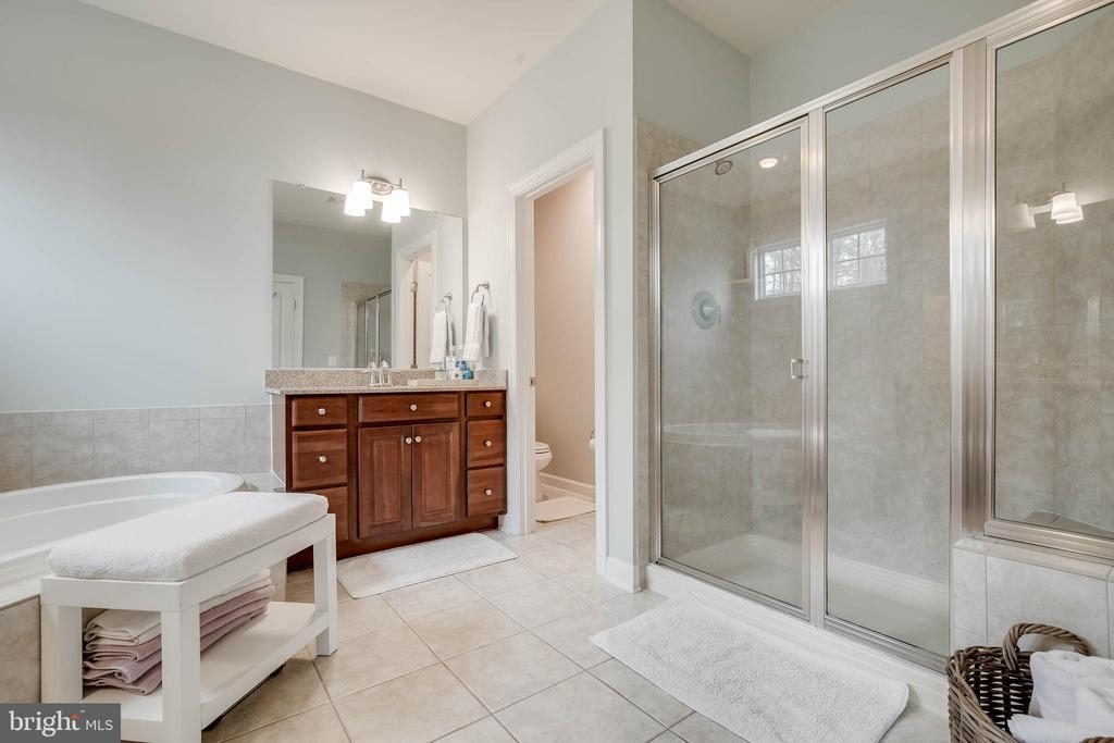 Enjoy the space with 2 vanities! - 25983 KIMBERLY ROSE DR, CHANTILLY