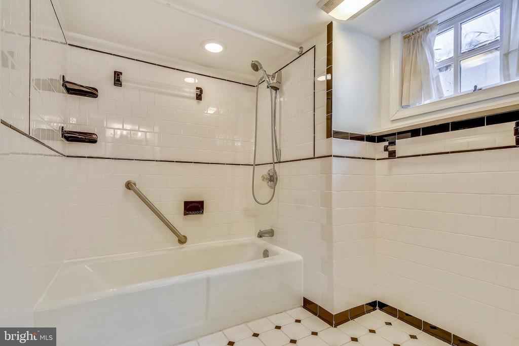 Lower Level Bath - 302 RUCKER PL, ALEXANDRIA