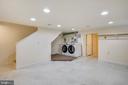 Laundry Area on Lower Level - 302 RUCKER PL, ALEXANDRIA