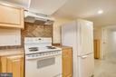 Lower Level Kitchen - 302 RUCKER PL, ALEXANDRIA