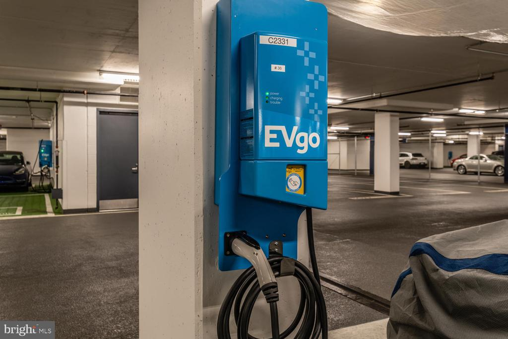 Electric chargers available separately in parking - 920 I ST NW #710, WASHINGTON