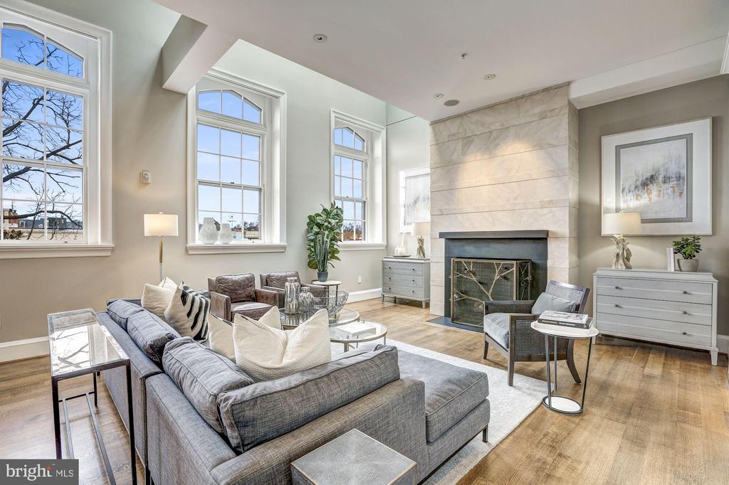 Living Room - 3329 PROSPECT ST NW #PENTHOUSE 6, WASHINGTON