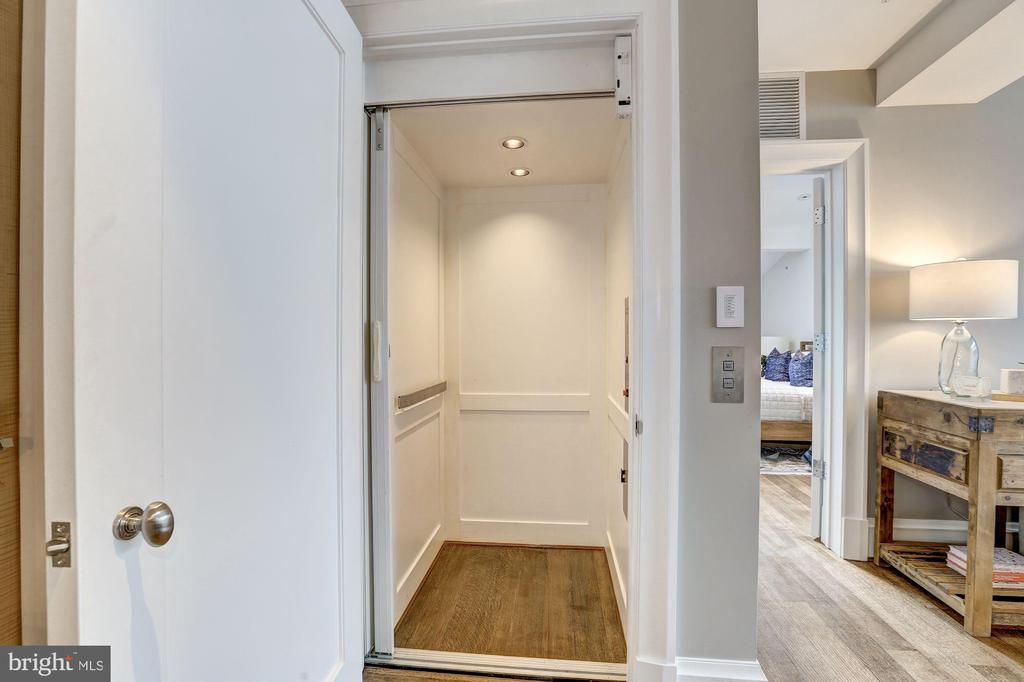 Private In-Unit Elevator - 3329 PROSPECT ST NW #PENTHOUSE 6, WASHINGTON