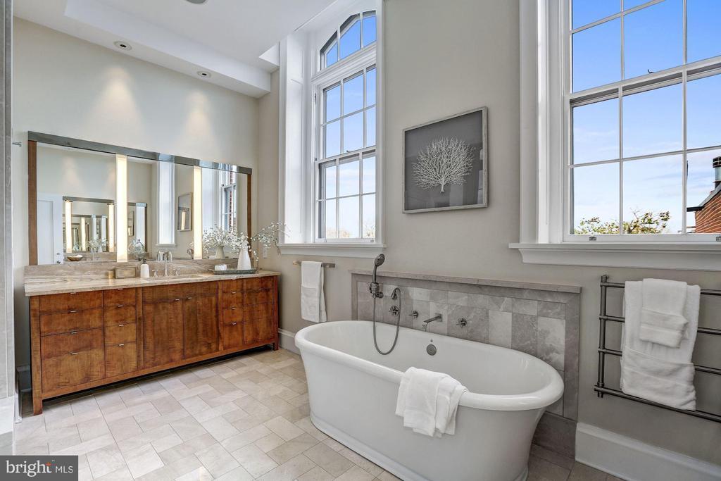 Master Bathroom - 3329 PROSPECT ST NW #PENTHOUSE 6, WASHINGTON