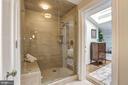 Frameless Glass Shower - 3329 PROSPECT ST NW #PENTHOUSE 6, WASHINGTON