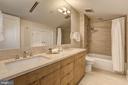 Guest Bathroom - 3329 PROSPECT ST NW #PENTHOUSE 6, WASHINGTON